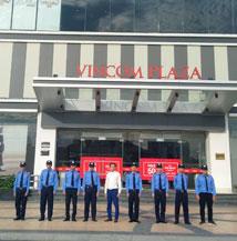 Bảo vệ trung tâm thương mại Vincom Bắc Ninh