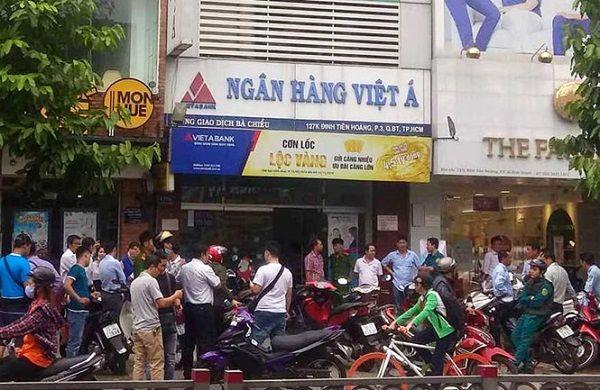 Khẩn trương điều tra bắt giữ đối tượng cướp ngân hàng Việt Á